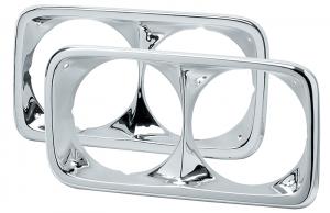 Chrome Headlight Bezel Set for GMC