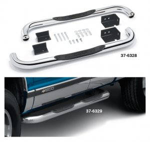 Step Bars ... Completely Bolt-On with No Drilling Required