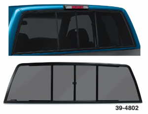 Sliding Rear Window … For Great Airflow