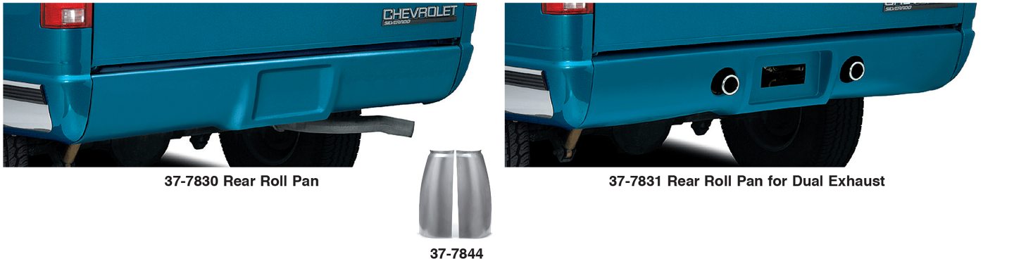 Urethane Rear Roll Pans Give Your Truck a Smooth Look