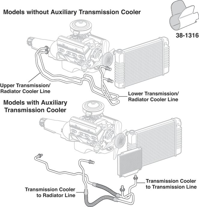 Pre Bent Transmission Cooler Lines