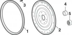Ring Gear, Flywheel and Flexplate