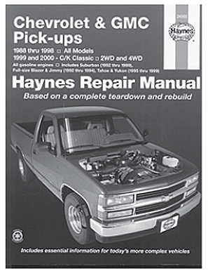 Chevrolet & GMC Pickups 1988-1998