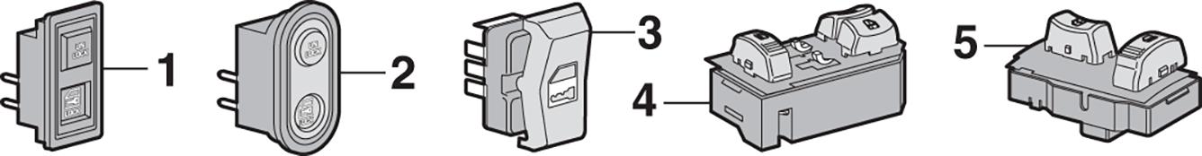 Door Lock Switches