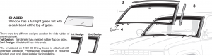 Windshield and Components