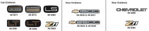 Chevrolet Emblems