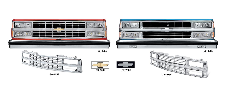 All Chrome Grille for Chevrolet