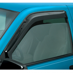In Channel Slimline Window Visors Provide Airflow and Less Wind Drag