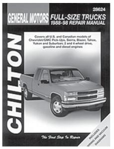 Chilton Manual