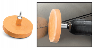Adhesive/Stripe Eraser Wheel
