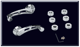 Chrome Window Handle Set