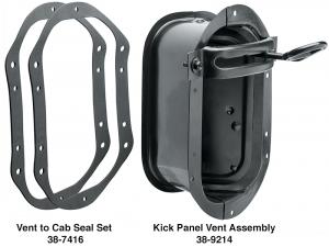 Kick Panel Vent Assembly