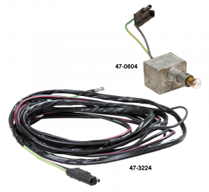 Cargo Light Switch and Feed Wire