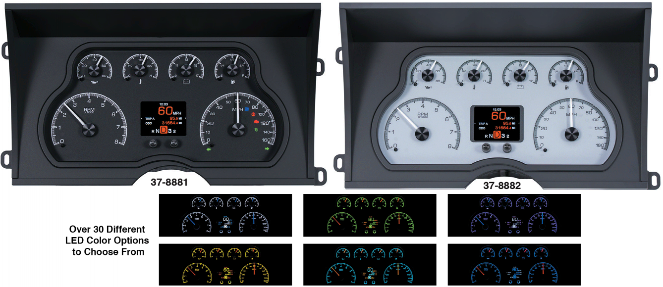 Dakota Digital HDX Gauge Clusters