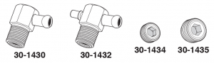 Manifold Vacuum Fittings and Plugs