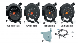 1973-87 Tachometers-5000 RPM
