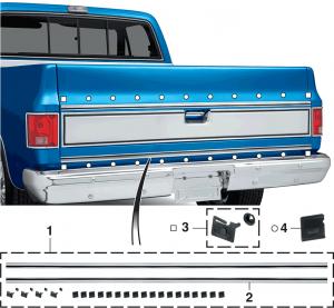 1973-80 Tailgate Molding