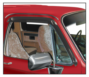 1973-91 Window Deflector ... Shades Interior and Keeps Rain Out