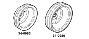 1973-86 Crankshaft Pulleys