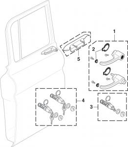 Exterior Door Handles and Locks