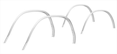 1973-79 Wheel Arch Molding Kit-Aluminum