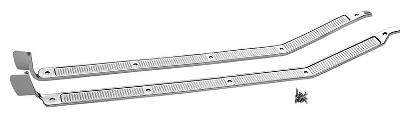 1973-79 Door Sill Plate Set-Aluminum