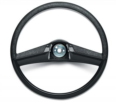 Steering Wheel - 15 Inch Black