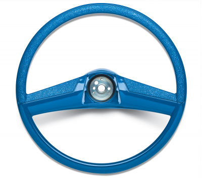 Steering Wheel-15 Inch Blue
