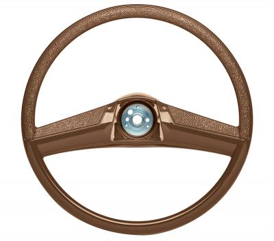 Steering Wheel-15 Inch Brown