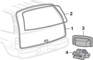 SUV Liftgate Components