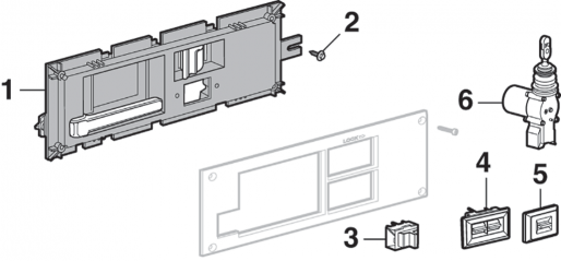 Door Handle and Components