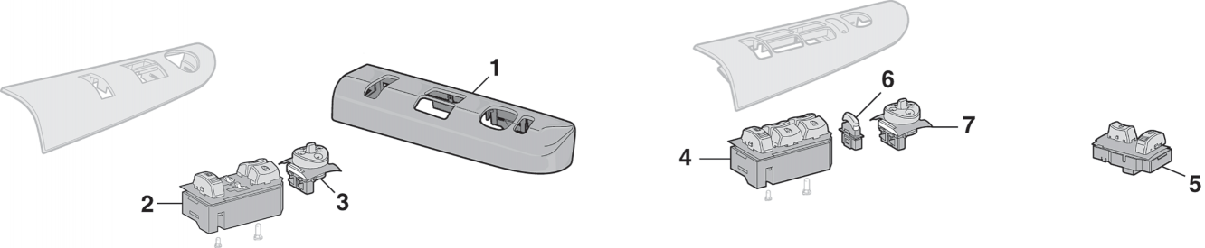 Door Switches and Components