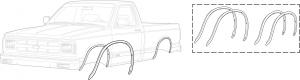Wheel Arch Molding Kit