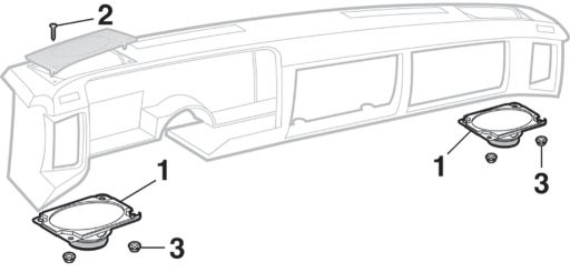 Dash Speaker and Components