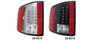 LED Tail Light Sets ... The Future of Automotive Lighting