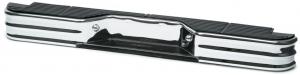 Chrome Rear Step Bumper - Polymer Pad