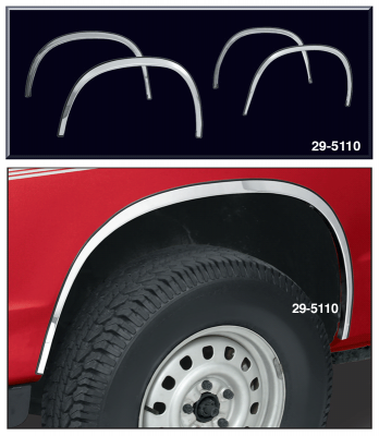 Chevy І GMC WF-2202 82-93 S-10 Sonoma fender trims S-15