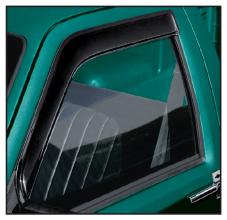 Window Deflector ... Shades Interior and Keeps Rain Out