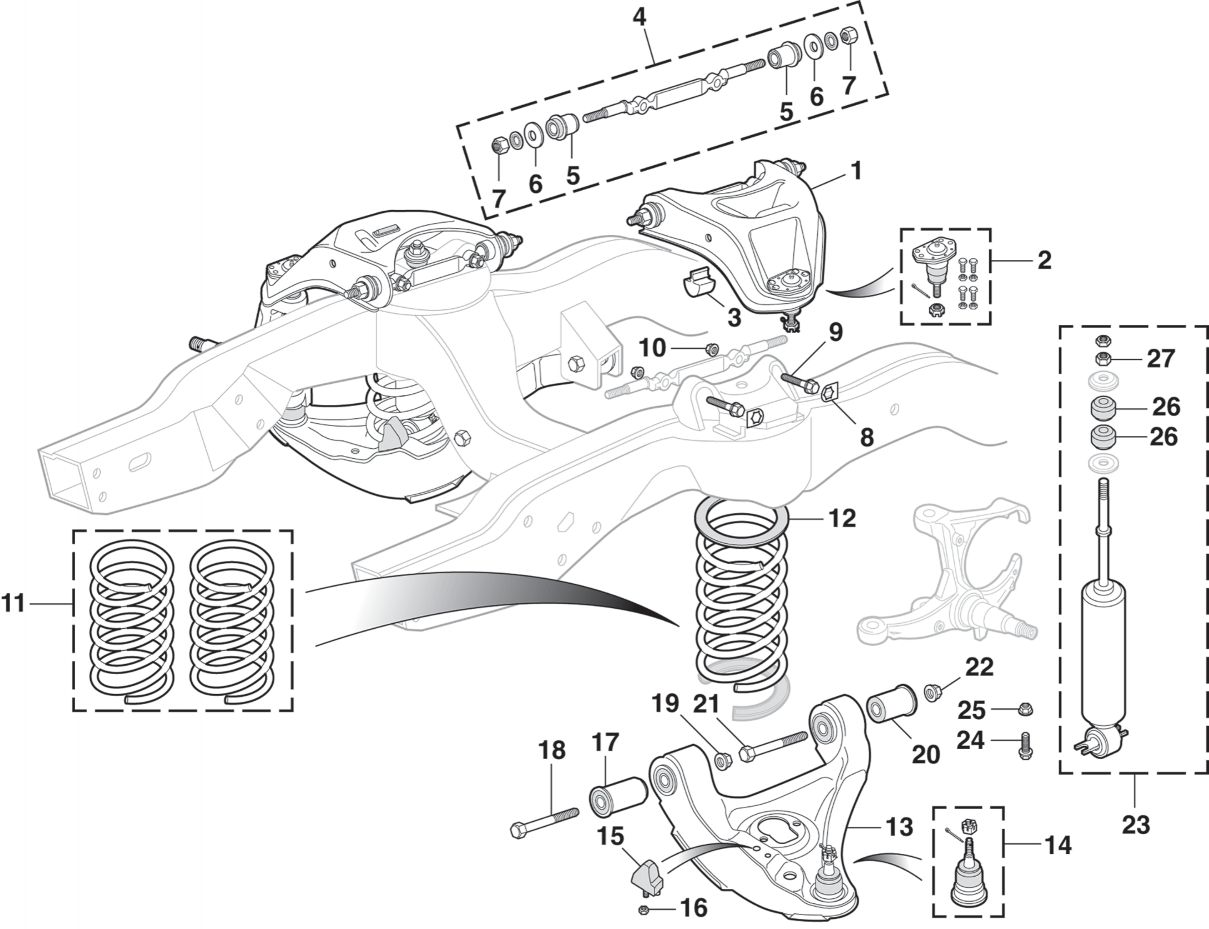 Front Suspension - Coil Spring