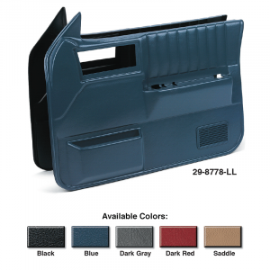 Replacement Front Door Panel Sets Models WITH Power Windows