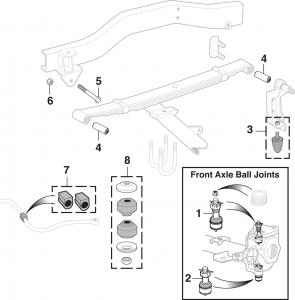 Front Suspension - 4WD