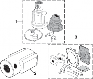 Steering Shaft Coupler and Repair Kit