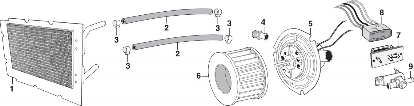 Heating and A/C Components