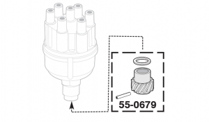 Distributor Gear Kit - 6 Cylinder