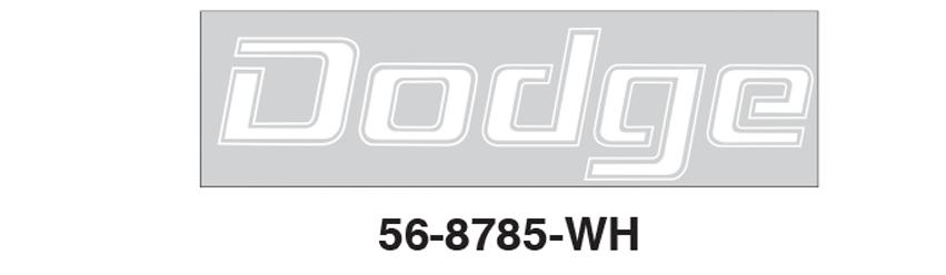 Tailgate Letter Set - Dodge