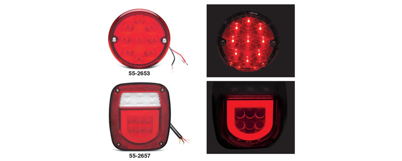 LED Tail Lights - Stepside