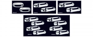 Chrome Handle Cover Sets ... Style and Elegance for Your Truck