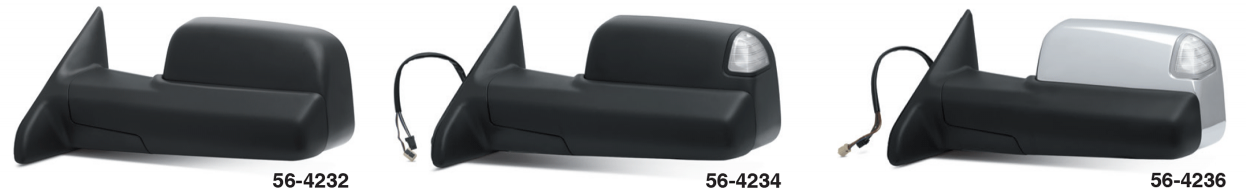 Reproduction Tow Mirrors