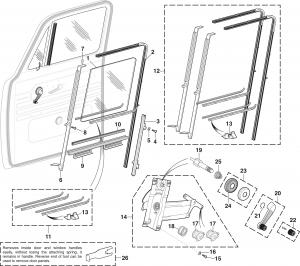 Door Window Components