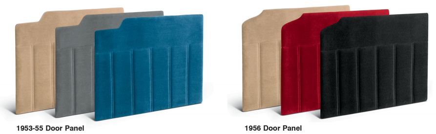 Velour Door Panel Sets